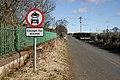 An access road at Newstead - geograph.org.uk - 1754999.jpg