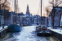 An early winter morning in Groningen (Explore) (6780950773).jpg