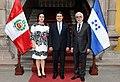Ana García de Hernández, Juan Orlando Hernández, Eduardo Martinetti, May 2015.jpg