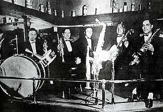 Paul Barbarin - Image: Anderson Band 1919