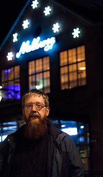 Andy Mabbett, GLAMcamp Amsterdam, Netherlands, IMG 1324 edit.jpg