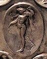 Anfora di baratti, argento, 390 circa, medaglioni, 42 satiro con feglie di vite.JPG