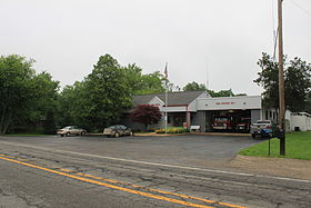 Ann Arbor Township hall and fire station.JPG