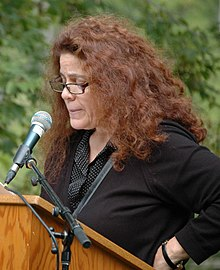 Anne Michaels reading at the Eden Mills Writers' Festival in 2013