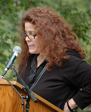 Anne Michaels - Michaels at the Eden Mills Writers' Festival in 2013