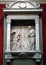 Annunciation Cavalcanti by Donatello (casting in Pushkin museum) by shakko 01.jpg