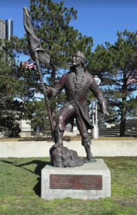 Statue of Cadillac