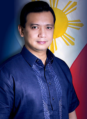 Manila Peninsula siege - Senator Antonio Trillanes, leader of the mutiny.