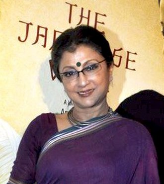 Aparna Sen - Aparna Sen at a The Japanese Wife (2010) promotional event.