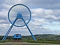 Apedale Pit Wheel - geograph.org.uk - 552987.jpg