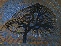 Apple Tree Pointillist Version by Piet Mondrian.jpg