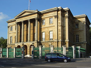 Apsley House - Apsley House, as it is today, Hyde Park Corner, London.