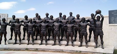Ararat-73 team sculpture, Yerevan (6).jpg