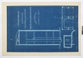 Arbetsritningar, fastigheten nr 4 Hamngatan. Hiss - Hallwylska museet - 105300.tif