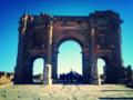 Arc dit de Trajan à Timgad das la Wilaya de Batna en Algérie.png