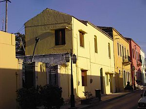 Archanes - A street in Archanes