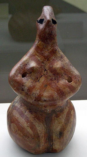 Hacilar - Statuette from Hacilar (5250-5000 BC), National Archaeological Museum (Florence)