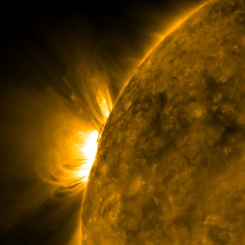 Arcing Active Region