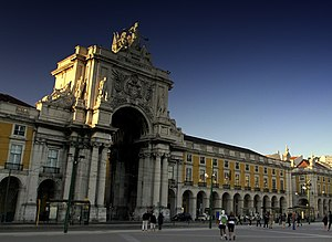 Law of Portugal - The seat of the Supreme Court of Justice at ''Terreiro do Paço'' square, Lisbon.