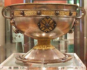 1868 in Ireland - The Ardagh Chalice: made in the 8th century, buried c. 1740 and rediscovered in 1868.
