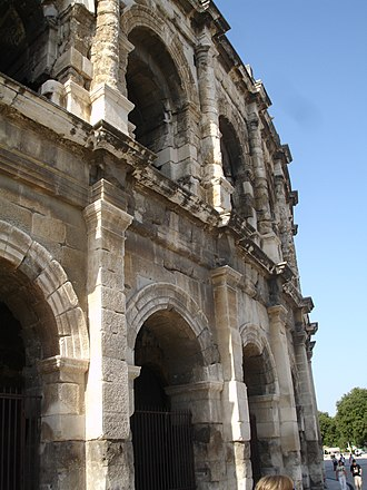 Arena of Nîmes - Image: Arena of Nimes