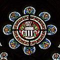 Armes de Rennes dans les vitraux du chevet de l'église Saint-Aubin en Notre-Dame-de-Bonne-Nouvelle, Rennes, France.jpg