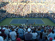 Inside Armstrong Stadium during the 2010 US Open.