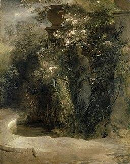 Arnold Böcklin - Verlassene Venus (1850er Jahre)