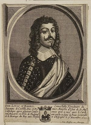 Luis Méndez de Haro - Don Luis Méndez de Haro y Guzmán, 6th Marquis of Carpio.