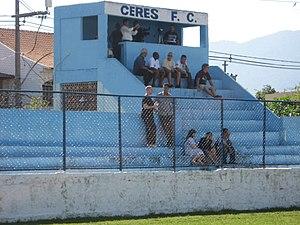 Ceres Futebol Clube - Estádio João Francisco dos Santos - administration block and viewing area