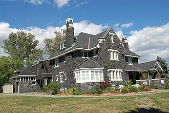 Urban neighbourhoods of Sudbury - Belrock Mansion, William J. Bell's masterpiece.