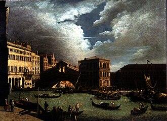 Francesco Battaglioli - Il ponte di Rialto (Fondazione Cariplo)