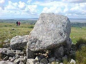 Cefn Bryn - Arthur's Stone