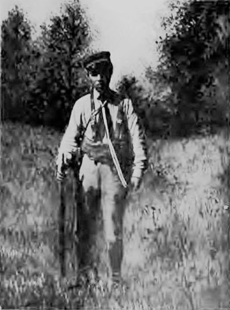 Arthur D. Howden Smith - Arthur D. Howden Smith dressed in the rebel uniform of the Macedonians, ca 1907.