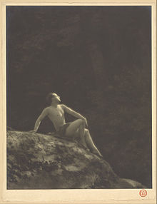 Ted Shawn, c. 1918, photographed by Arthur F. Kales