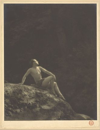 Ted Shawn - Ted Shawn, c. 1918, photographed by Arthur F. Kales