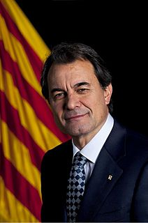 Spanish politician, President of the Generalitat of Catalonia