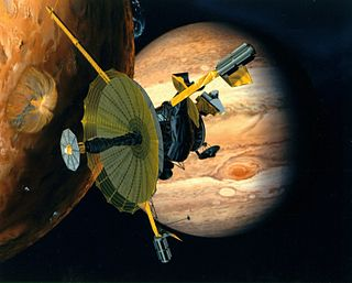 <i>Galileo</i> (spacecraft) Unmanned NASA spacecraft which studied the planet Jupiter and its moons