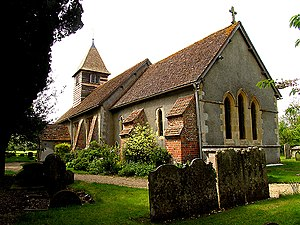 Ashampstead - Image: Ashampstead church