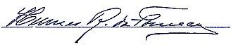 Hermes da Fonseca - Image: Assinatura Heres OK VALENDO