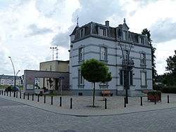 The townhall in Athus