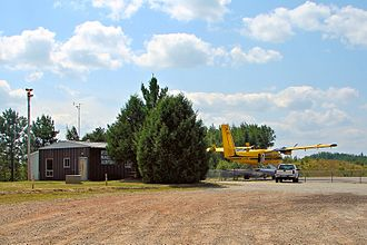 Atikokan Municipal Airport - Image: Atikokan Airport