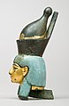Attachment in the form of the head of a goddess wearing the double crown MET 26.7.1427 lp.jpg