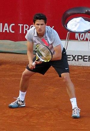 Attila Balázs - Attila Balázs at the 2012 BRD Năstase Țiriac Trophy