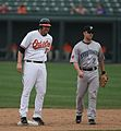 Aubrey Huff and Aaron Hill.jpg