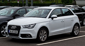Audi A1 Sportback 1.6 TDI Ambition – Frontansicht, 5. September 2012, Wuppertal.jpg
