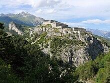 Forts de la barrière de l'Esseillon en Maurienne
