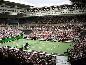 2007 Australian Open - Women's singles fourth round match at Vodafone Arena on day six of the 2007 Australian Open.