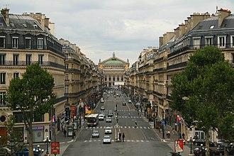 Avenue de l'Opéra - View toward the Opéra