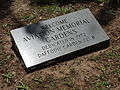 Aviation Memorial Gardens marker, Enterprise.JPG